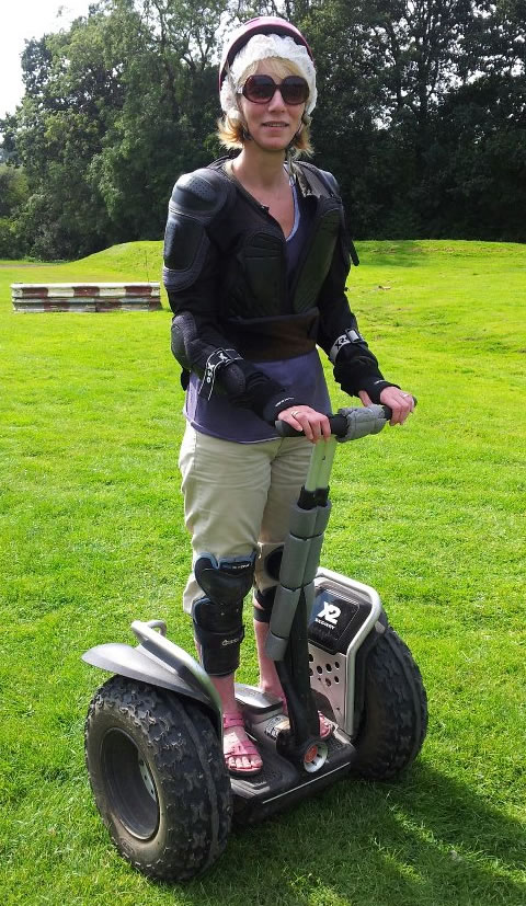 Off-road Segway riding, Northamptonshire